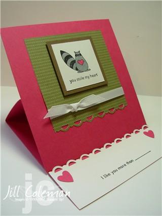Love Bandit Easel Card