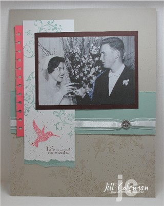 Elements of Style Scrapbook Mom Day