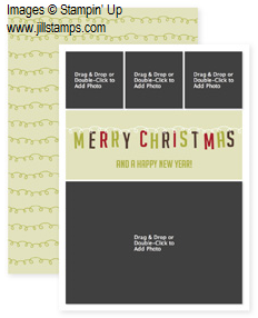 And A Happy New Year Photocard Template