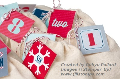 Days in December Kit Advent Bags