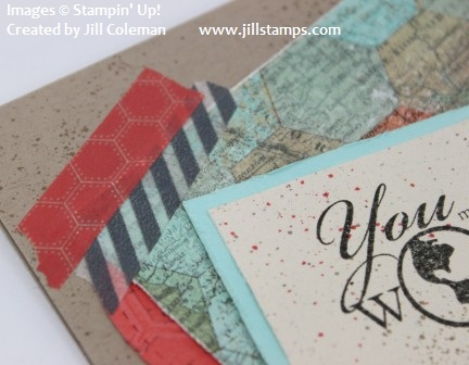 Stampin' Up! Epic Day Washi Tap